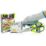 PrimeCuts 3 in 1 Sharpening Set - Premium Knife Sharpening System Kitchen and Outdoor Knife Sharpener AND Scissor Sharpener AND Heavy Duty Scissors Shears FREE Cut Resistant Glove