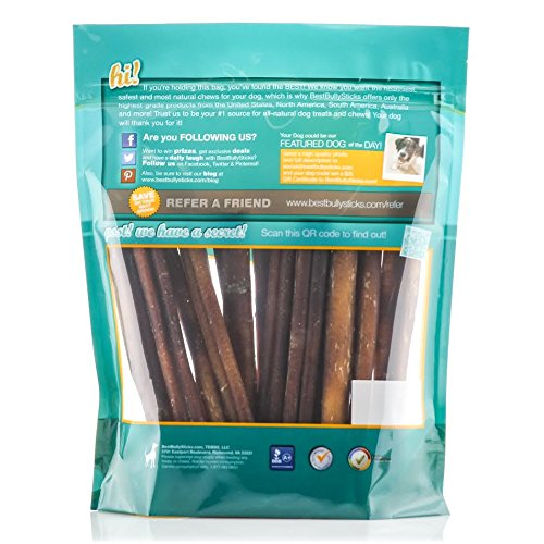 USA-6-inch-Odor-Free-Bully-Sticks-by-Best-Bully-Sticks-18-Pack-All-Natural-Dog-Treats