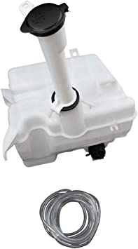 Compatible with 2014-2017 Toyota Corolla Windshield Washer Reservoir Tank with Pump