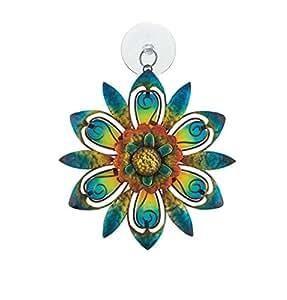 Regal Sun Catcher - Blue Flower
