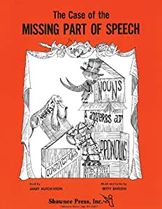 The Case Of The Missing Parts Of Speech Director's Score W/Reprod. Parts