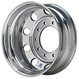 Alcoa 19.5'' x 6'' Polished Rear Dual for Ford F450/F550 & Dodge 4500/5500 (763292)