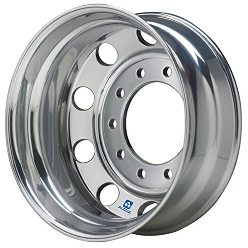 "B078N3QHMP Alcoa 19.5"" x 6"" Polished Rear Dual for Ford F450/F550 & Dodge 4500/5500 (763292) 51LtIaFihHL"