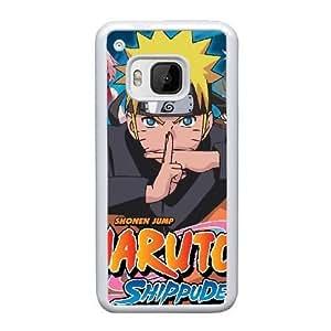 Generic hard plastic NARUTO Uzumaki Naruto Anime Cell Phone Case for HTC One M9 White B1890