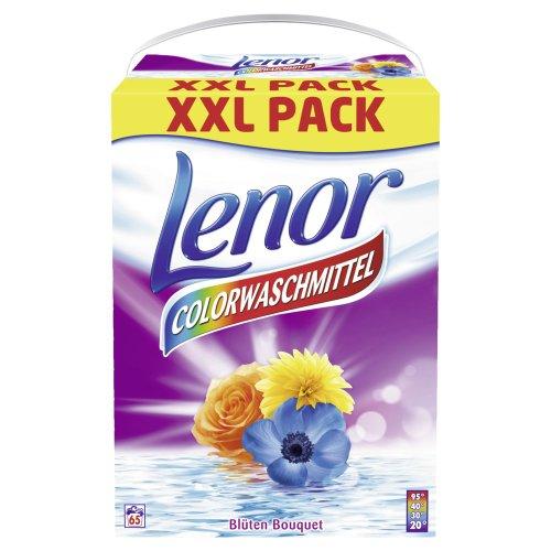 Lenor Waschmittel Pulver Color - 65WL, 1er Pack (1 x 5.2 kg)