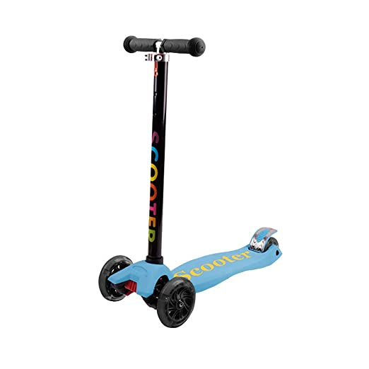 CHHBOXCHH Scooter con Led Luces Manillar,Patinete Plegable ...