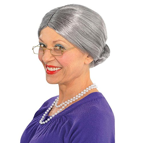 [Old Lady Wig Costume Accessory] (Old Wigs)