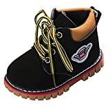 Naladoo Baby Warm Boy Girl British Wind Martin Snow Boots Sneaker Lace-Up Shoes