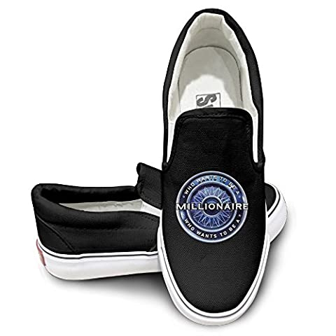 OOONG Millionaire Quiz Casual Slip On Canvas Shoes Flats 43 (What Did Kanye)