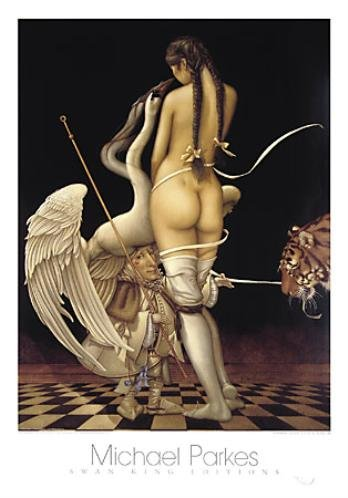 Puppetmaster Art Poster PRINT Michael Parkes 24x34