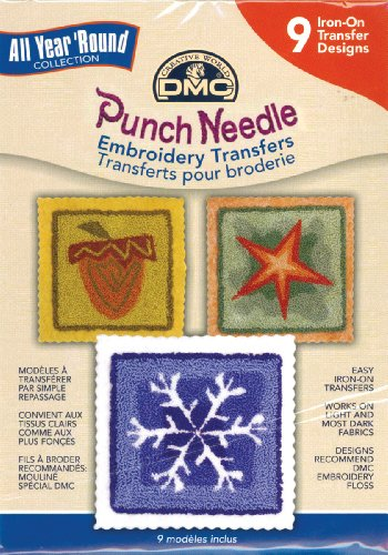Punch Needle Embrd Transfer Pks-All Year Round (Transfer Dmc Embroidery)