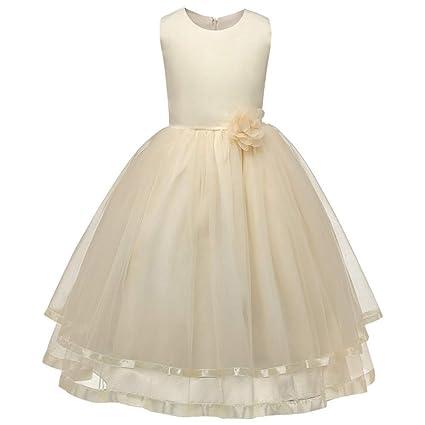 ed69604494b0 Vestido para niños Vestido de Dama de Honor Vestido de Fiesta para Fiesta  de Cumpleaños Vestido ...