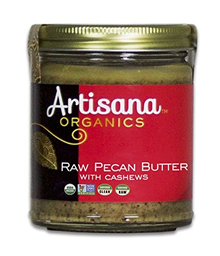 Cashew Pecan - Artisana Organics - Pecan Butter with Cashews, no added sugar or oil, Certified organic, RAW and non-GMO, rich and creamy