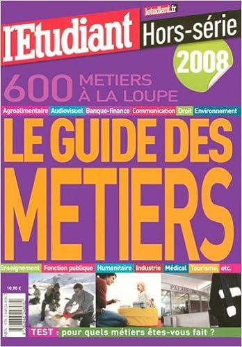 Livres Le guide des métiers pdf