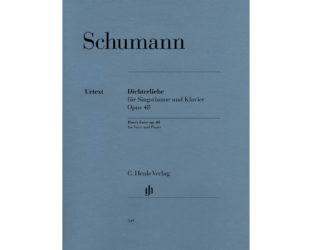 G. Henle Verlag Dichterliebe for Voice and Piano, Op. 48 Henle Music  Softcover by Robert Schumann Edited by Kazuko Ozawa: Hal Leonard:  0884088177195: ...