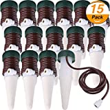Hestya Watering Stakes Automatic Watering System, Plant Self Drip Irrigation Slow Release for Indoor or Outdoor Houseplants