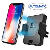 induction cell phone charger - Wireless Car Charger, MAGQI Automatic Qi Wireless Car Mount Air Vent Holder Wireless Charging for Samsung Galaxy S9 S9 Plus S8 S7/S7 Edge Note 8 5 iPhone X 8/8 Plus & Other Qi Enabled Devices