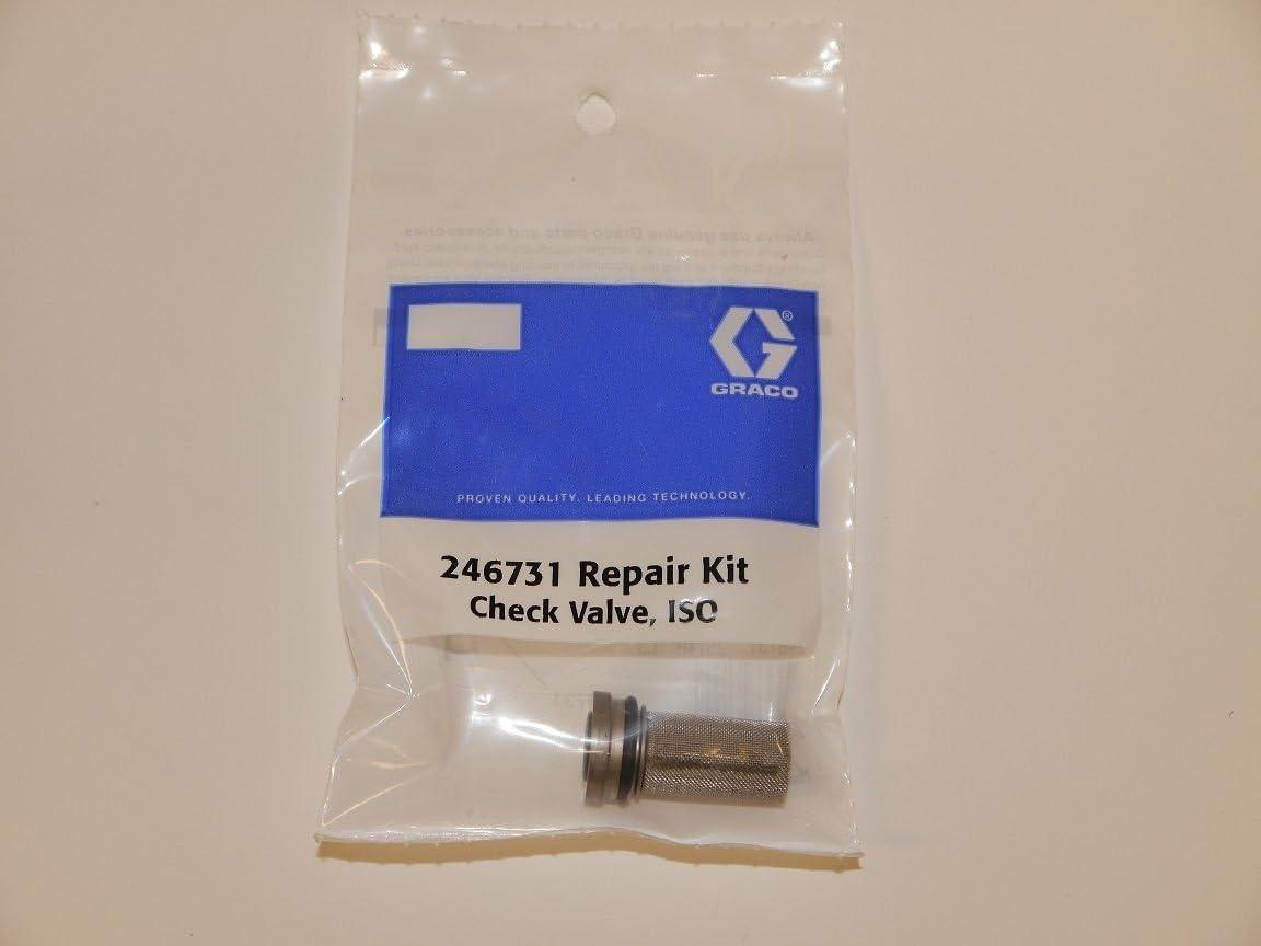 2 Sets 246351 Check Valve O-Ring Kits Aftermarket fits Graco Fusion AP Spray Gun