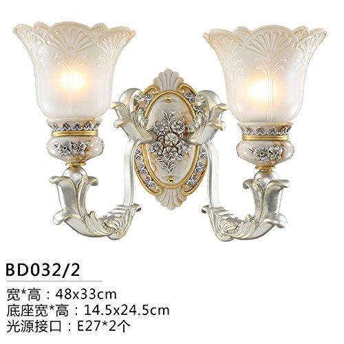Weqayu Im Europaischen Stil Wandleuchte Schlafzimmer Lampe Antik