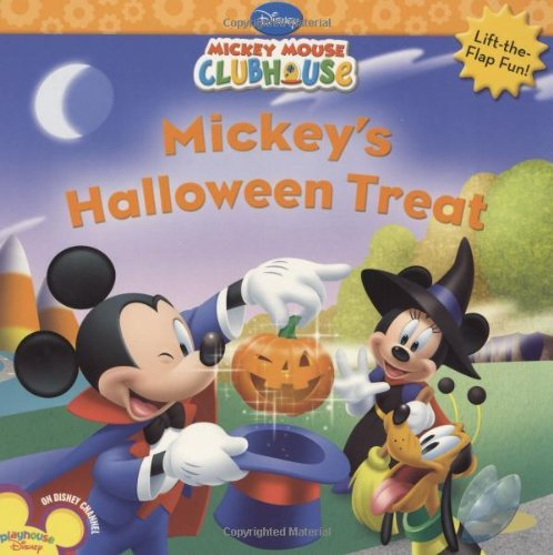 Mickey's Halloween Treat (Disney Mickey Mouse Clubhouse) by Disney Book Group (2008-07-15) -