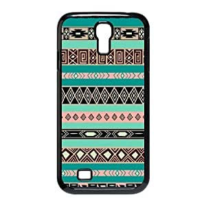 ALICASE Aztec Tribal Diy Case Shell Cover For Samsung Galaxy S4 i9500 [Pattern-1]