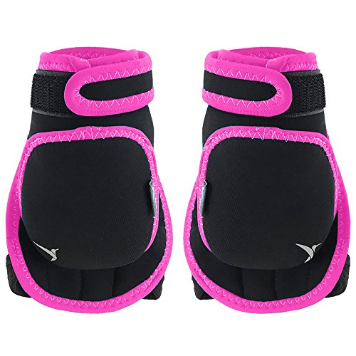 Empower Weighted Gloves for Women, 1 Pound Each Glove Weighted Fitness Gloves, Kickboxing, Cardio, Workout
