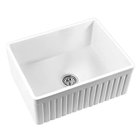 Mitrani USA TOSCAN SB W 26 3/8 Inch Fireclay Farmhouse Smooth OR