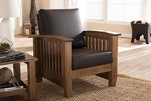 Baxton Studio Charlotte Lounge Chair