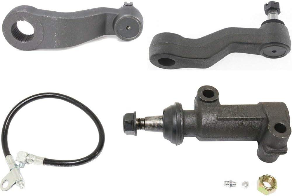 Suspension Kit for GMC Sierra 1500 99-06 Sierra 1500 Classic 07-07 Set of 3 Front W//Idler Arm Idler Arm Bracket and Pitman Arm