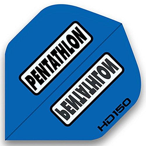 3-sets-of-standard-size-pentathlon-hd150-dart-flights-blue