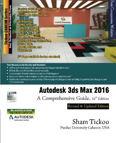 Ebook Autodesk 3ds Max 2016 A Comprehensive Guide Free
