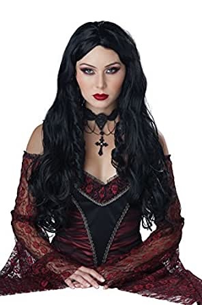 California Costumes Women's Gothique EN Noire Wig, Black, One Size