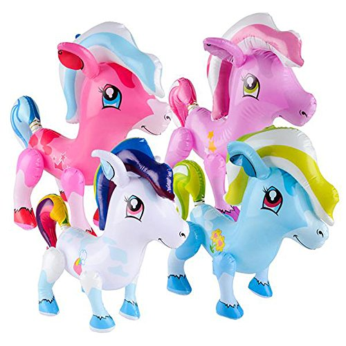 Colorful Pony Party Inflates order
