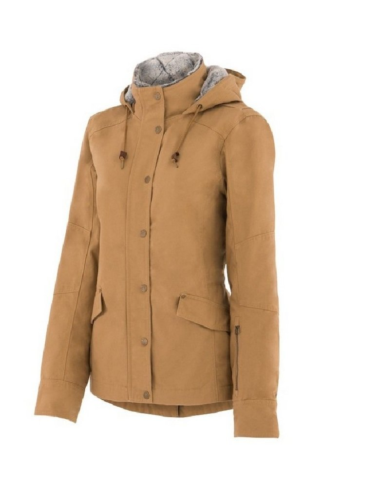 Noble Outfitters Girl Tough Canvas Jacket L Bronz