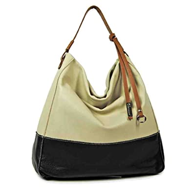 CLEARANCE SALE - GIANNI CHIARINI Genuine Italian Cream & Black ...