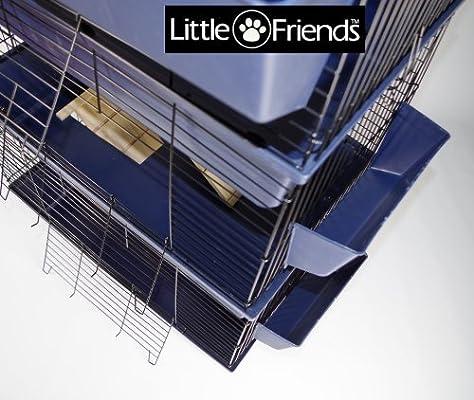 Little Friends Poco amigos conejo jaula, Triple nivel, 80 cm ...
