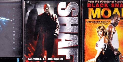 (Black Snake Moan , Unbreakable , Shaft : Samuel L Jackson Triple Pack)