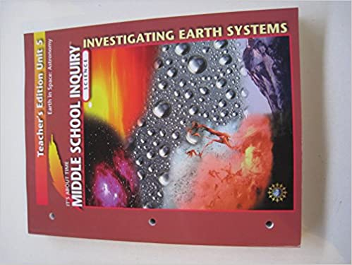 Book Earth in Space: Astronomy Unit 5 (Teacher's Edition) (Middle School Science Inquiry)
