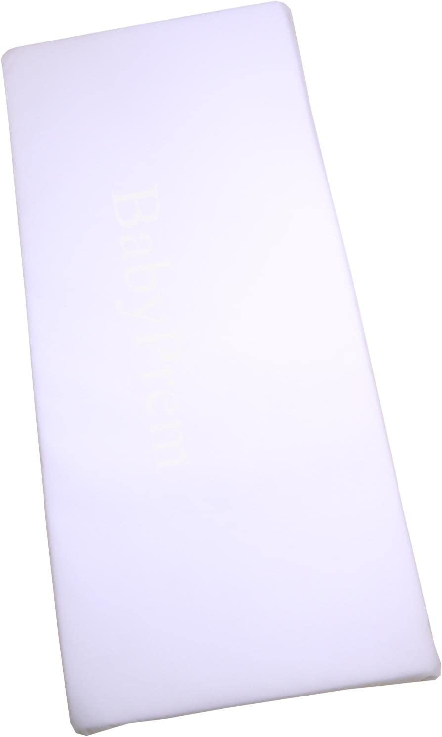 Crib//Cradle Mattress 90 x 40 x 3.5 cm Standard or Quilted Option Quilted
