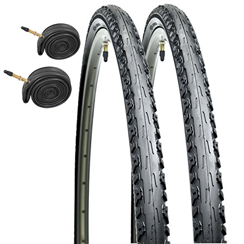 CST Raleigh T1531 Arrow 700 x 38c Hybrid Bike Tires with Presta Tubes (Pair)