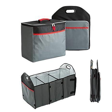 2 en 1 Bolsas de maletero plegables para automóviles y ...