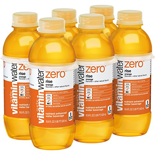 Vitaminwater Zero Rise Water, 16.9 Ounce (6 Bottles)