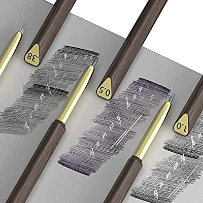 Direct Indenting Stylus for Paper/Drawing Embossing Tools Work In Pencil To Create Fine Detail 0.38mm 0.5mm 1mm/Create Realistic Whiskers Fur Texture On Drawings/White Hair Details Tools for Drawing