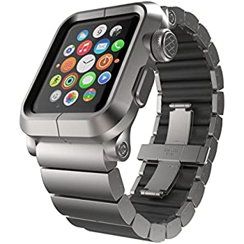 Amazon.com: LUNATIK EPIK Aluminum Case and Metal Link Band