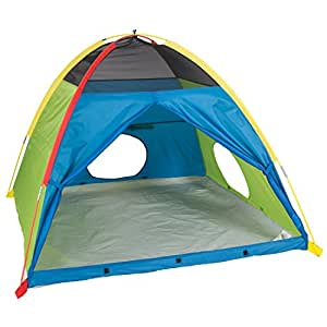 """Pacific Play Tents Super Duper 4 Kid Dome Tent for Indoor / Outdoor Fun - 58"""" x 58"""" x 46"""""""