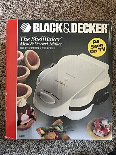Black Decker The Shell Baker Meal Dessert Maker