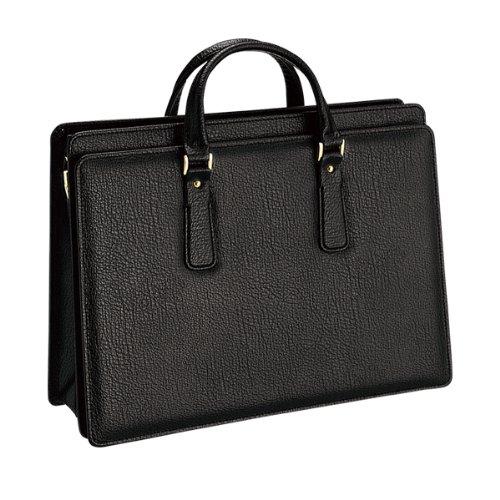 ブリーフケース ビジネスバッグ メンズバッグ 豊岡製 かばん 鞄 24-0209 ブラック10 B00M62Z8AW