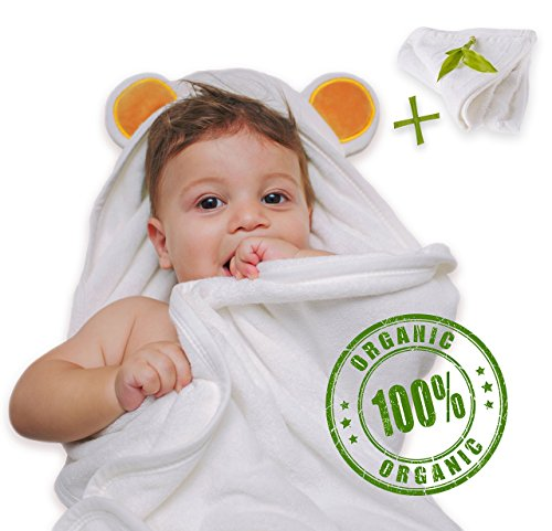 extra large baby bath towel - 1