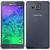 "Samsung Galaxy Alpha - Smartphone Vodafone Libre,  pantalla de 4.7"", 32GB, cámara de 12 MP, Wi-Fi, GPS, color negro"