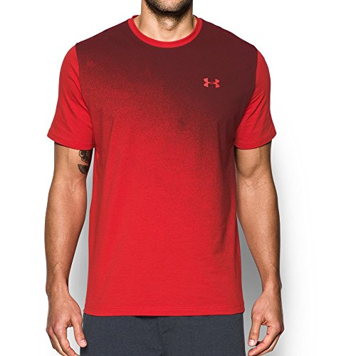 Under Armour Men's Gradient T-Shirt, Red/Deep Red, XX-Large
